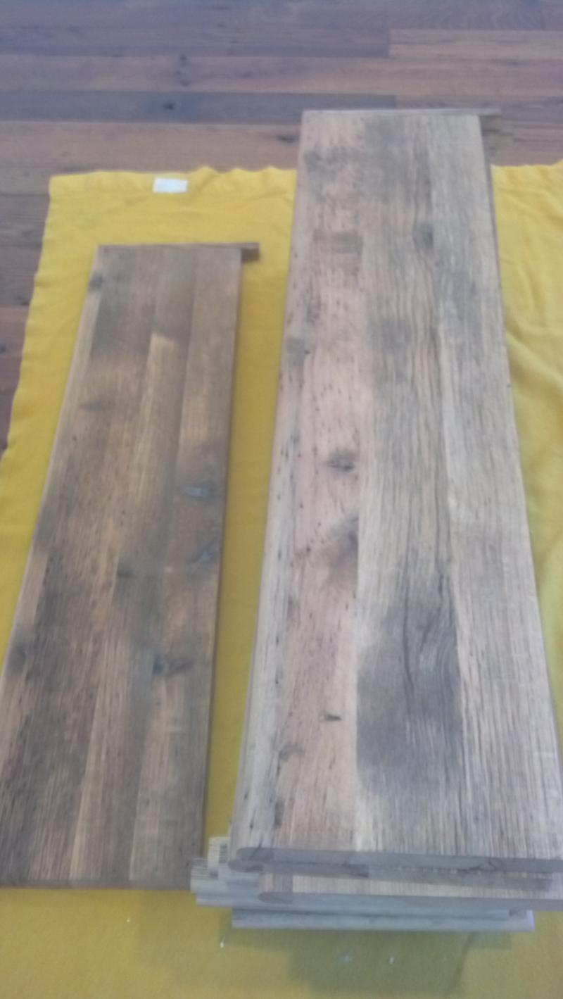 Distressed Oak Stair Tread