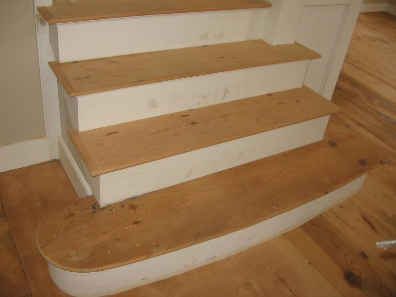 How To Finishing Oak Stair Treads : Pine Stair Treads